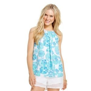 Lilly Pulitzer Tops - Lilly Pulitzer Target Sea Urchin For You Halter